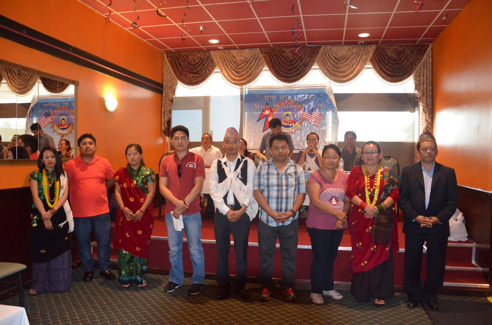 6th National Convention of Magar Association USA Held on Aug.16th 2015